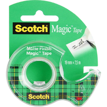 "Клейкая лента Scotch® ""Magic"" в диспенсере"